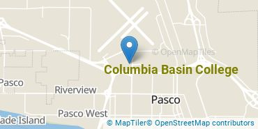 Location of Columbia Basin College