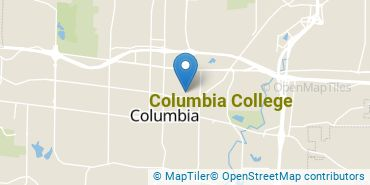 Location of Columbia College