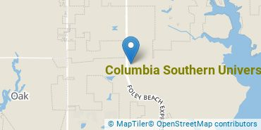 Location of Columbia Southern University