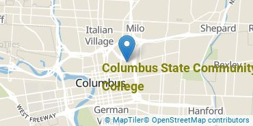Location of Columbus State Community College