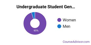 Undergraduate Student Gender Diversity at  Community Care College