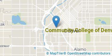 Location of Community College of Denver