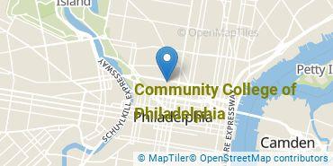 Location of Community College of Philadelphia