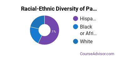 Racial-Ethnic Diversity of Parks, Recreation, Leisure, & Fitness Studies Majors at Concordia University - Texas