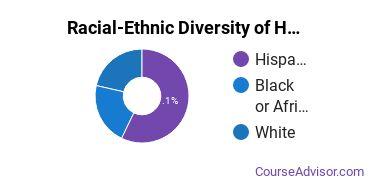 Racial-Ethnic Diversity of Health & Physical Education Majors at Concordia University - Texas