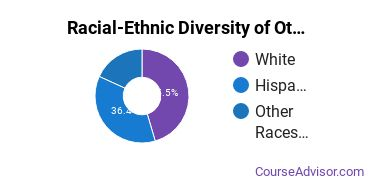 Racial-Ethnic Diversity of Other Psychology Majors at Concordia University - Texas