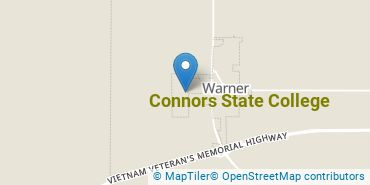Location of Connors State College