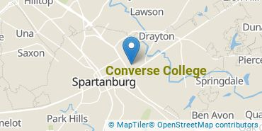 Location of Converse College