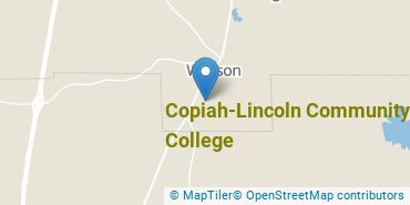 Location of Copiah-Lincoln Community College