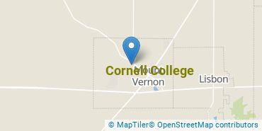 Location of Cornell College