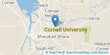 Location of Cornell University