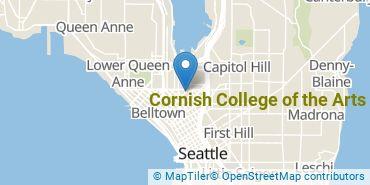 Location of Cornish College of the Arts