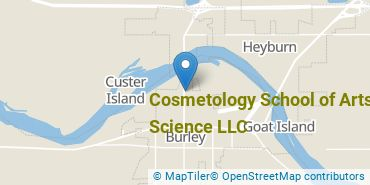 Location of Cosmetology School of Arts and Science LLC