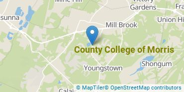 Location of County College of Morris