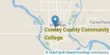 Location of Cowley County Community College