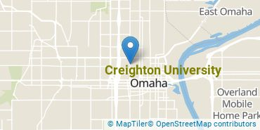 Location of Creighton University