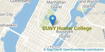 Location of Hunter College