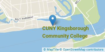 Location of Kingsborough Community College