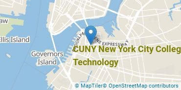 Location of New York City College of Technology