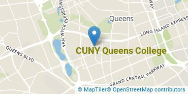Location of CUNY Queens College