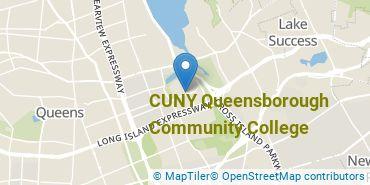 Location of CUNY Queensborough Community College