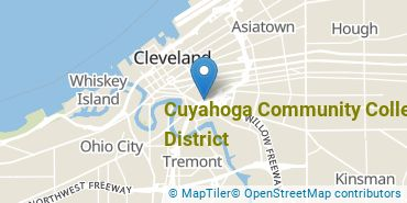 Location of Cuyahoga Community College District
