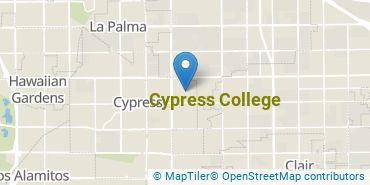 Location of Cypress College