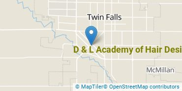 Location of D & L Academy of Hair Design