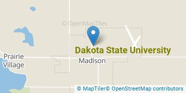 Location of Dakota State University