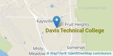 Location of Davis Technical College
