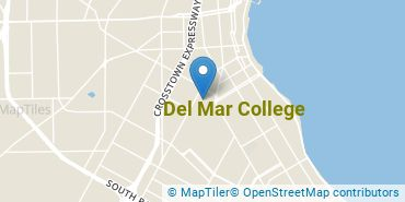 Location of Del Mar College