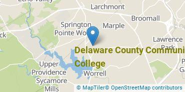 Location of Delaware County Community College