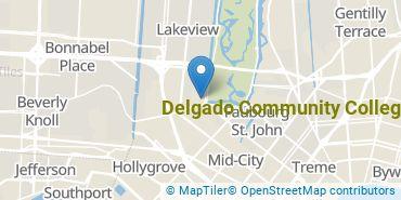 Location of Delgado Community College