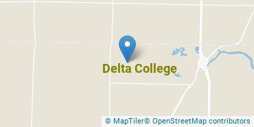 Location of Delta College