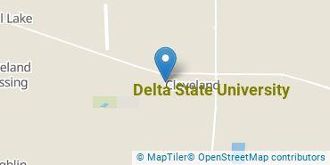 Location of Delta State University