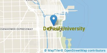 Location of DePaul University