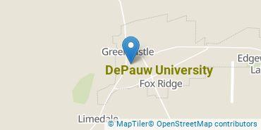 Location of DePauw University