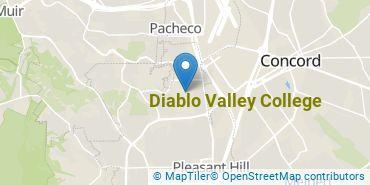 Location of Diablo Valley College