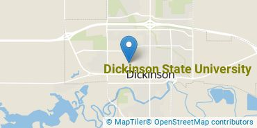 Location of Dickinson State University