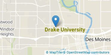 Location of Drake University