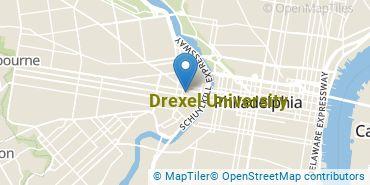 Location of Drexel University