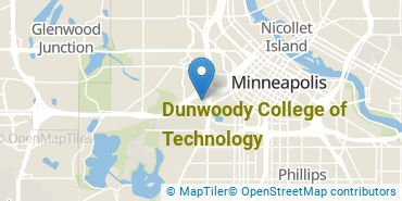 Location of Dunwoody College of Technology
