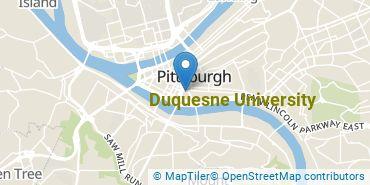 Location of Duquesne University