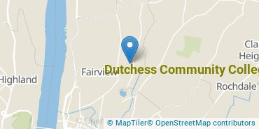 Location of Dutchess Community College