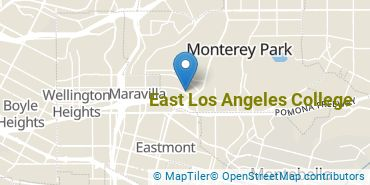 Location of East Los Angeles College