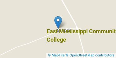 Location of East Mississippi Community College