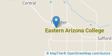 Location of Eastern Arizona College