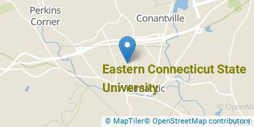 Location of Eastern Connecticut State University
