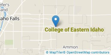 Location of College of Eastern Idaho