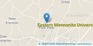 Location of Eastern Mennonite University